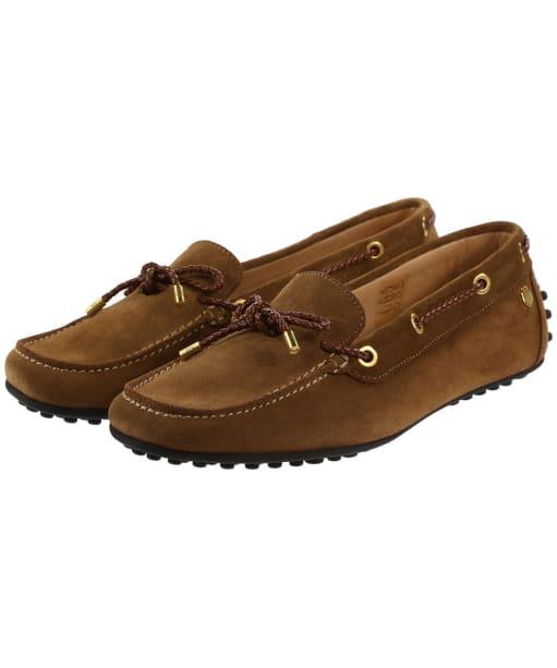 Women's Fairfax & Favor Henley Shoes - Tan Suede