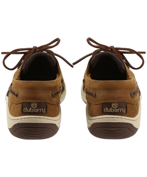 Men's Dubarry Regatta Boat Shoes - Whiskey