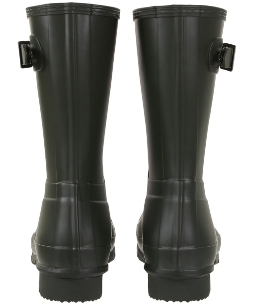 Men's Hunter Original Short Wellington Boots - Dark Olive