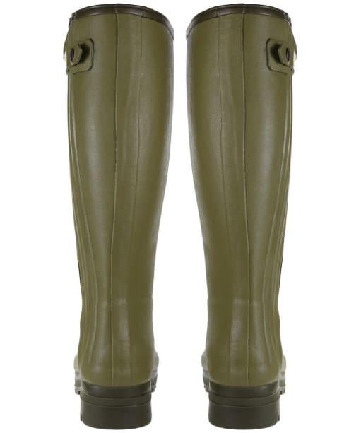 Men's Le Chameau Chasseur Neoprene Lined Wellington Boots - 41cm calf - Green