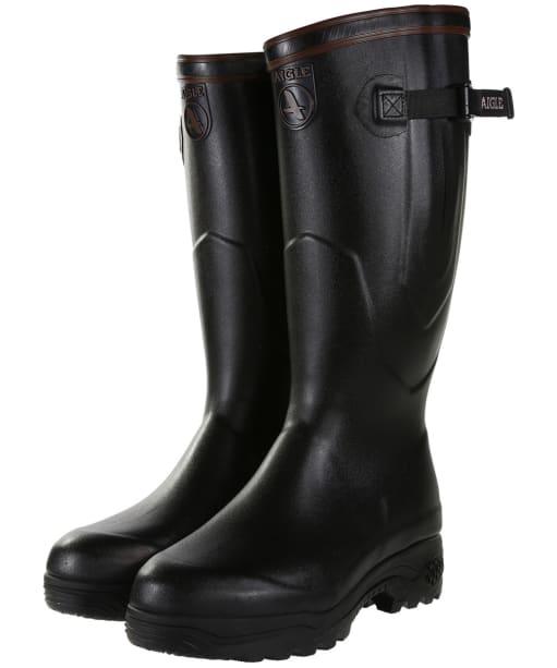 Aigle Parcours 2 Iso Wellington Boots - Black