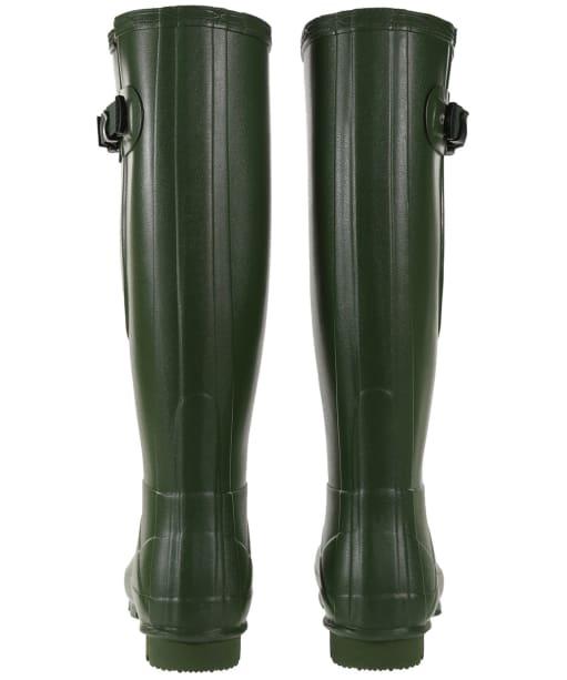 Women's Hunter Norris Field Side Adjustable Wellington Boots - Vintage Green