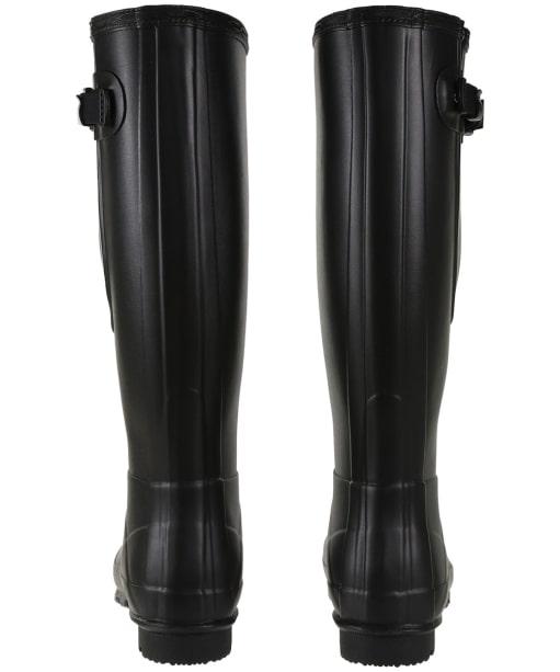 Women's Hunter Norris Field Side Adjustable Wellington Boots - Black