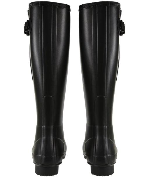 Men's Hunter Field Side Adjustable Neoprene Wellington Boots - Black