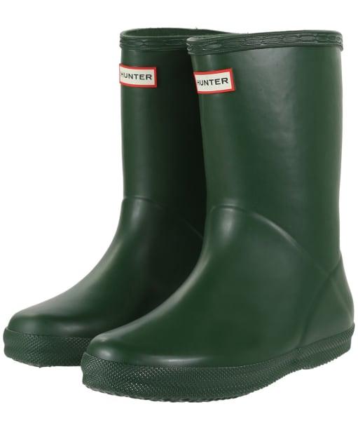Hunter Kids First Classic Wellington Boots - Hunter Green