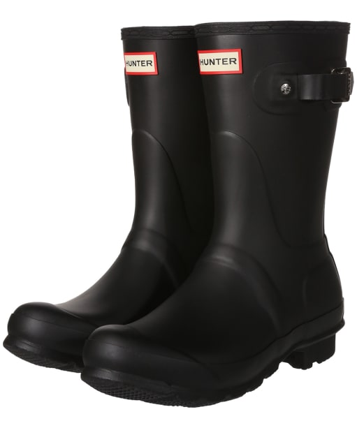 Women's Hunter Original Short Wellington Boots - Black