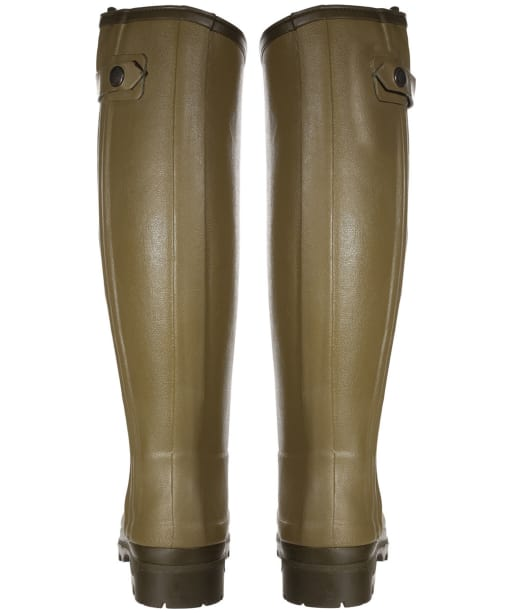 Women's Le Chameau Chasseur Neoprene Lined Wellington Boots - Green