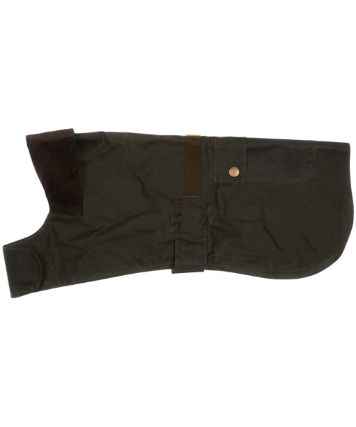 Barbour Lightweight Waxed Dog Coat - Archive Olive