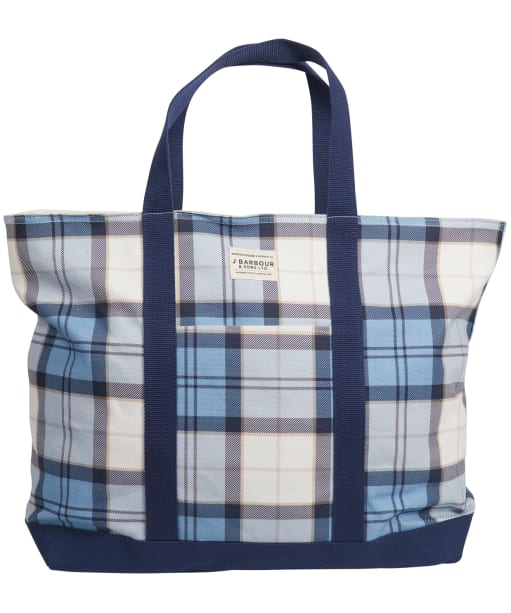 Womens Barbour Kirkwall Tote Bag - FADE BLUE TARTN