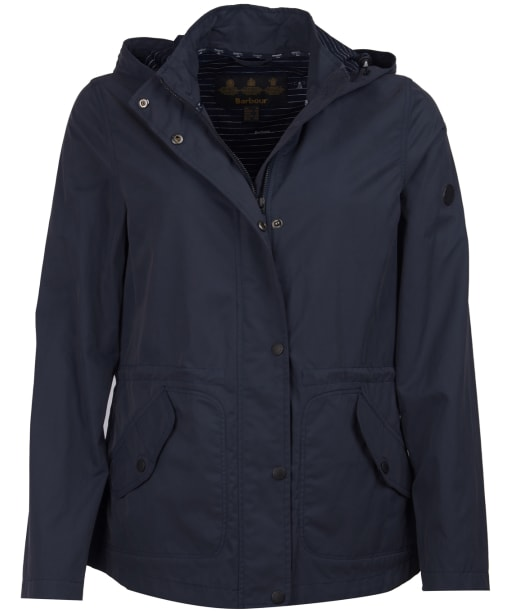 Women's Barbour Deck Casual Jacket - Navy