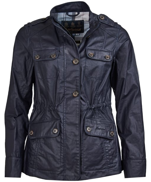 Women's Barbour Southsider Casual Jacket - Navy