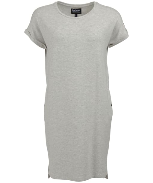 Women's Barbour International Hurdle Dress - Pale Grey Marl