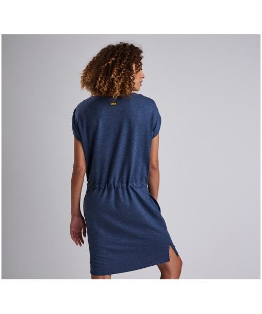 Women's Barbour International Sprinter Dress - Denim Blue