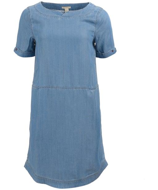 Women's Barbour Seaward Dress - Lt Wash Denim