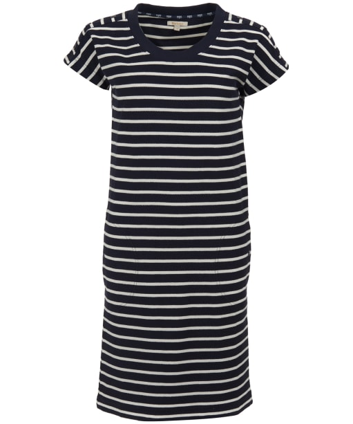 Women's Barbour Sailboat Dress - Navy / White