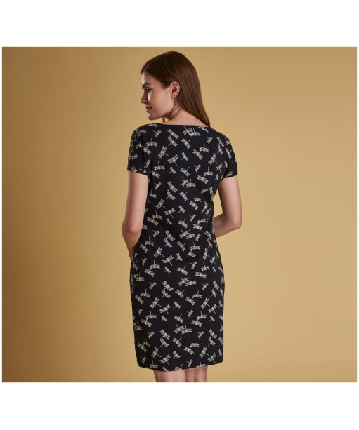 Women's Barbour Manor Dress - Navy Dragonfly