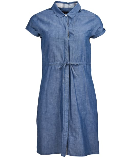 Women's Barbour Wheatsheaf Dress - Denim
