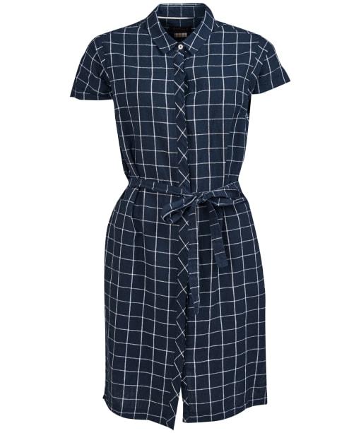 Women's Barbour Lorne Dress - Navy / White