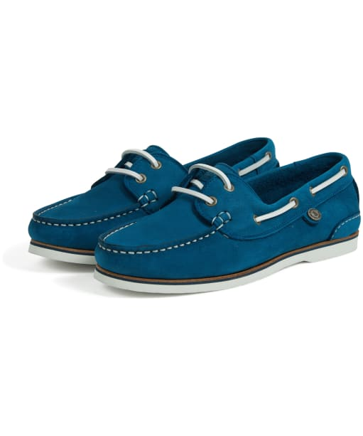 Women's Barbour Bowline Boat Shoes - Chambray
