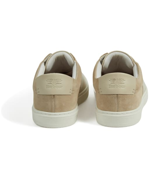 Women's Barbour Catlina Leather Trainers - Beige