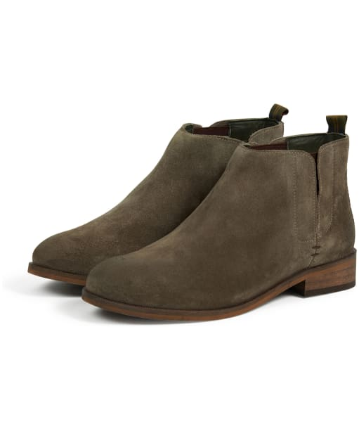 Women's Barbour Maggie Chelsea Boots - Graphite Suede