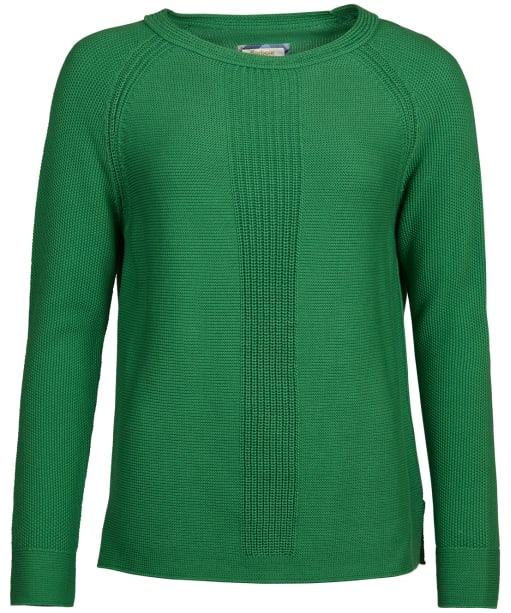 Women's Barbour Carisbrooke Knitted Sweater - Clover