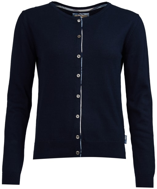 Women's Breedon Knitted Cardigan - Navy