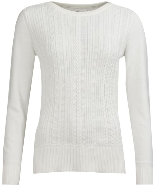 Women's Barbour Hampton Knitted Sweater - Off White