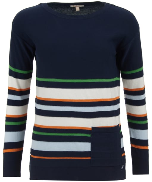 Women's Barbour Applecross Knitted Sweater - Navy