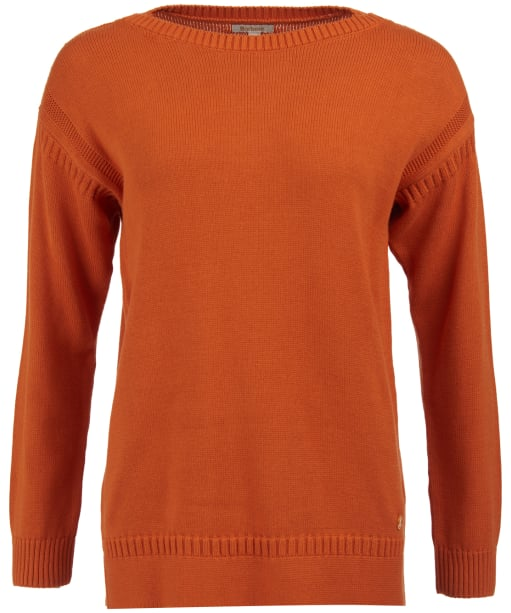 Women's Barbour Sailboat Knitted Sweater - Marigold