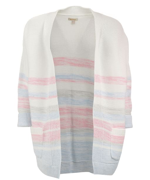 Women's Barbour Seaward Knitted Cardigan - Off White