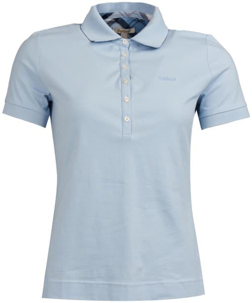 Women's Barbour Portsdown Top - Pale Blue