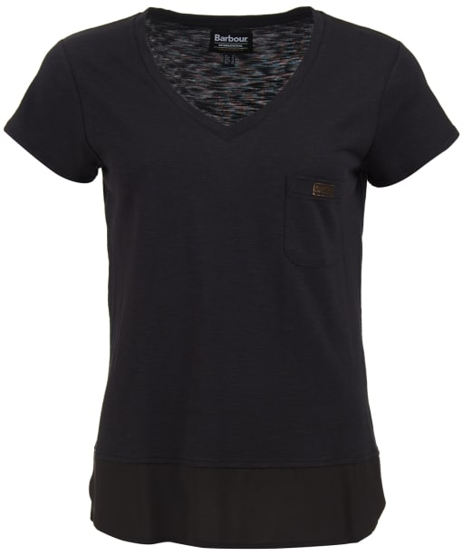 Women's Barbour International Division Top - Black