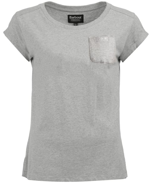 Women's Barbour International Sprinter Top - Pale Grey Marl