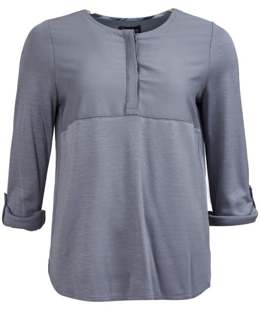 Women's Barbour Carron Top - Mercury Grey