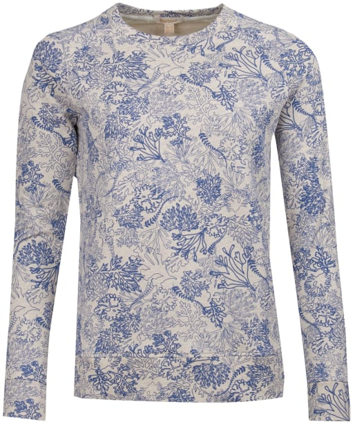 Women's Barbour Dalgetty Sweatshirt - Cloud Marl