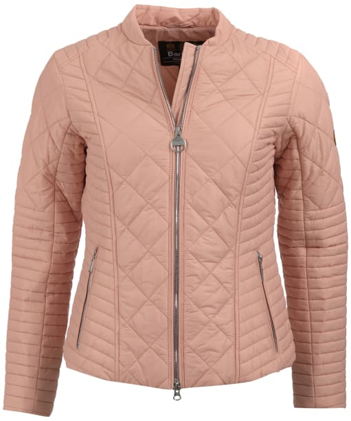 Women's Barbour International Sprinter Quilted Jacket - Nude