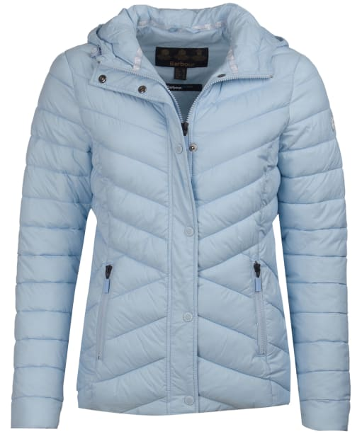Women's Barbour Isobath Quilted Jacket - Powder Blue