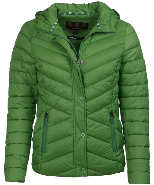 Women's Barbour Isobath Quilted Jacket - Clover