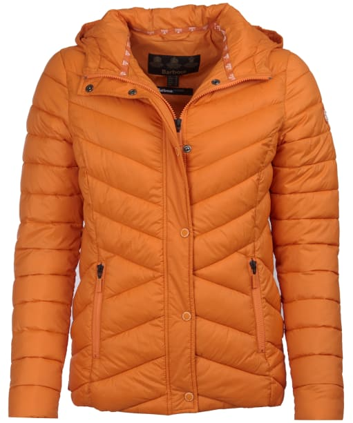 Women's Barbour Isobath Quilted Jacket - Marigold