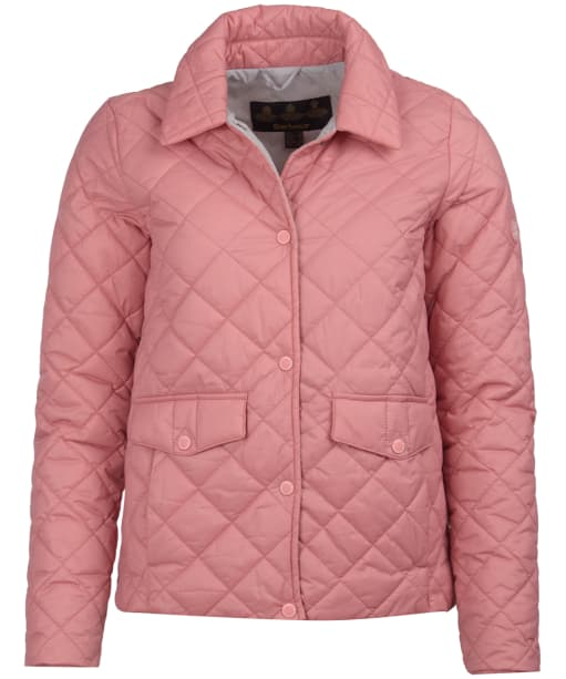 Women's Barbour Overwash Quilted Jacket - Vintage Rose