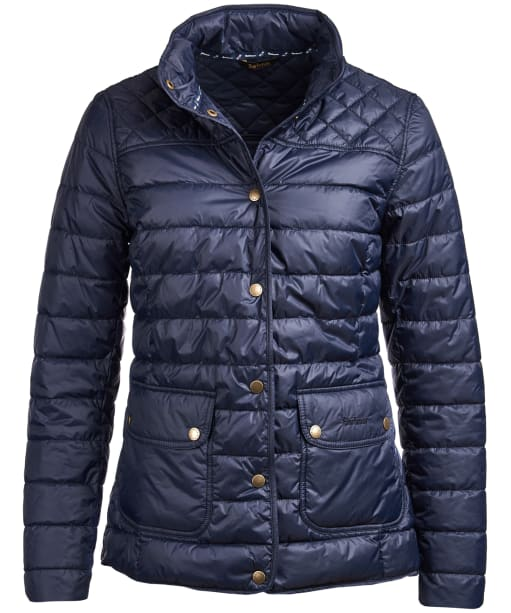 Women's Barbour Coledale Quilted Jacket - Navy