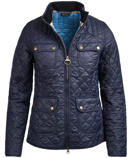Women's Barbour Bowfell Quilted Jacket - Navy