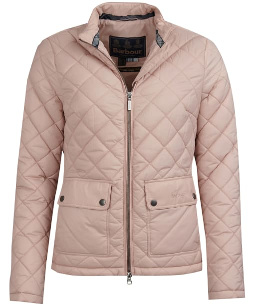 Women's Barbour Lorne Quilted Jacket - Pale Pink