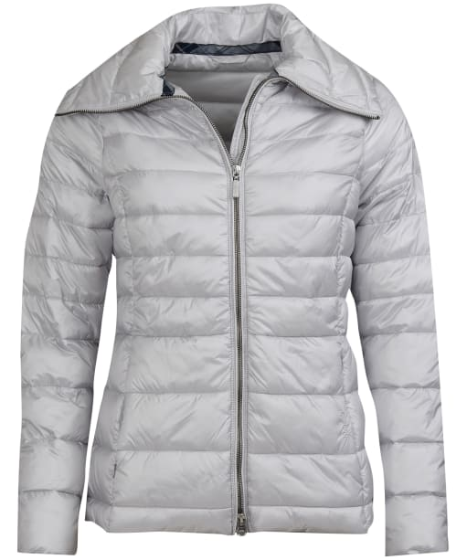 Women's Barbour Drovers Quilted Jacket - Ice White