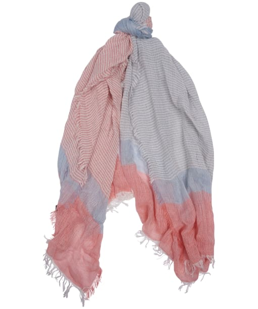 Women's Barbour Whitmore Wrap - Blue / Pink Stripe