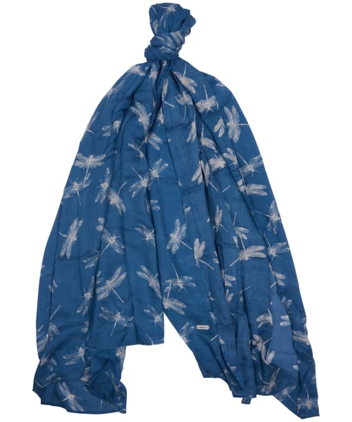 Women's Barbour Dragonfly Wrap - Blue Heaven