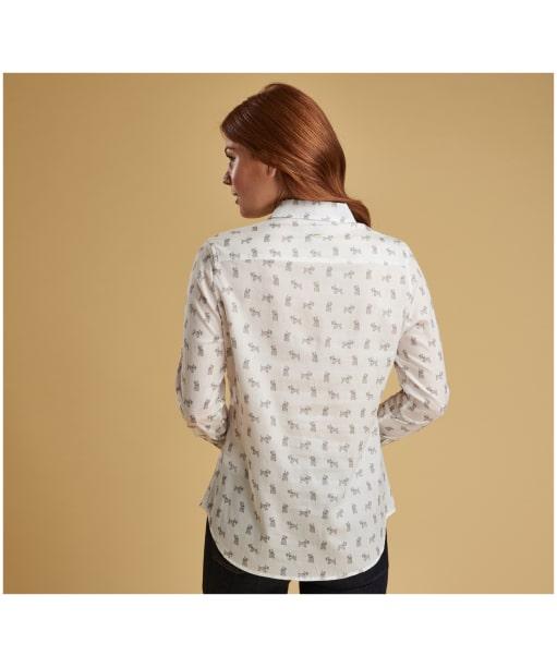 Women's Barbour Greyfriars Shirt - White