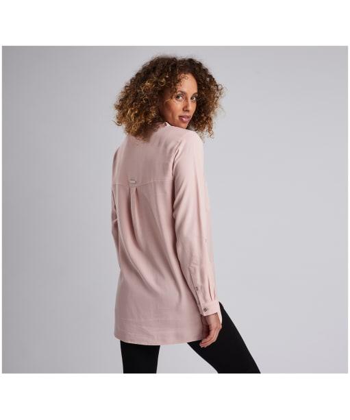 Women's Barbour International Dunsfold Shirt - Pale Rose