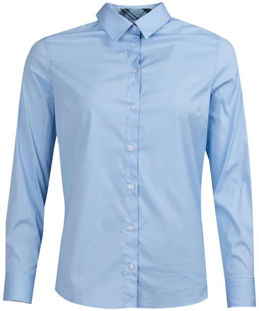 Women's Barbour Malvern Shirt - Pale Blue